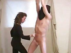 BDSM Handjob Femdom Masturbation Cumshot