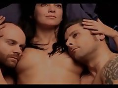 Brunette Group Sex Celebrity Threesome