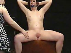 Black pussy fucks her white roommate