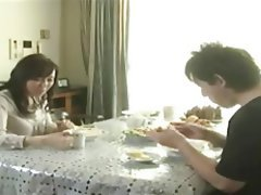 Cumshot Japanese MILF Old and Young