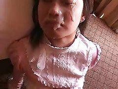 Amateur Cumshot Facial Japanese