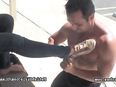 Babe Feet Fetish Public