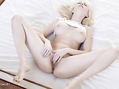 Big Tits Panties Masturbation Solo