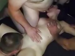 British Group Sex MILF