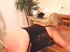 BBW BDSM Blonde Mature Spanking