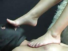 BDSM Blonde Bondage Femdom Foot Fetish