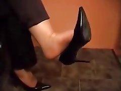 Femdom Foot Fetish Stockings Webcam