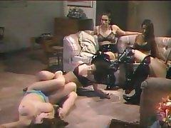 Brunette Lesbian Big Boobs Group Sex Vintage