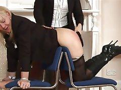BDSM Femdom Mature Spanking