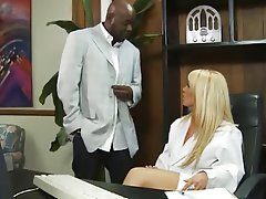 Babe Blonde Hardcore Interracial