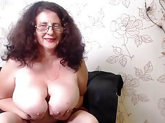 Big Boobs Granny Mature Webcam