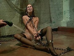 BDSM Brunette Black Submissive