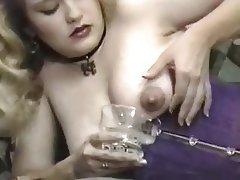 Babe Big Boobs Blonde Nipples Vintage