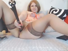 Amateur BBW BDSM Masturbation Webcam