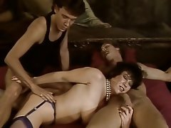 Anal Group Sex MILF Stockings Vintage