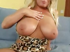 Big Boobs Blonde Mature MILF