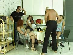 Group Sex Mature MILF Swinger