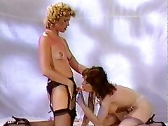 Anal Femdom Lesbian Stockings Strapon