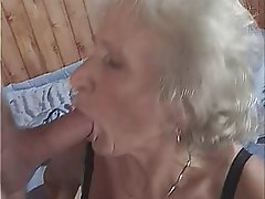 Big Boobs Blowjob Granny