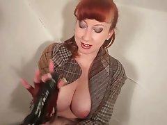 Mature Masturbation MILF Redhead