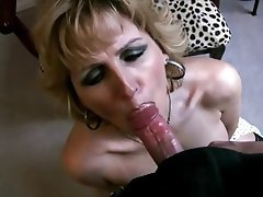 Big Boobs Blonde Blowjob Mature