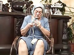 Blowjob Facial German Granny