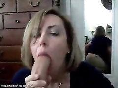 Big Cock Blowjob MILF POV Amateur