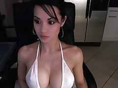 Asian, Big Boobs, Webcam