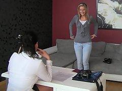 Amateur Blonde Casting Casting