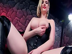 Big Boobs Blonde Pornstar POV