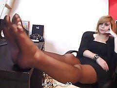 Stockings Femdom Foot Fetish Pantyhose
