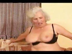Blonde Blowjob Cumshot Granny Mature
