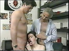 Anal Group Sex Hairy Old and Young Swinger