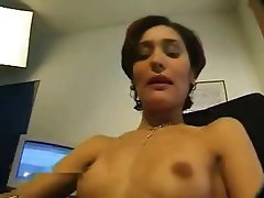 Brunette Casting French Small Tits