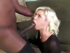 Blonde Blowjob Hardcore Interracial