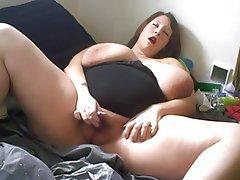 Babe BBW Big Boobs Masturbation Webcam