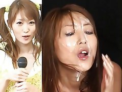 Bukkake Cumshot Facial Japanese