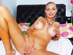 Big Tits, Stockings, Amateur, Solo