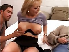 Double Penetration Big Boobs MILF Piercing