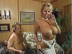 Vintage blonde Blowjob