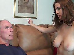 Big Boobs Handjob Old and Young
