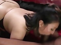 Asian BBW Hardcore Threesome