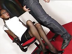 pantyhose blowjobs Nylon