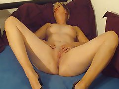 Amateur German Masturbation