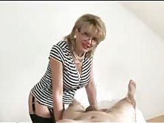 Granny Handjob Mature MILF