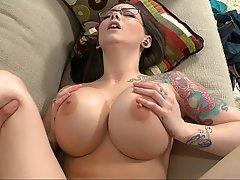 Big Tits Brunette Cumshot Fucking