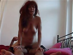 Mature, Old and Young, Redhead