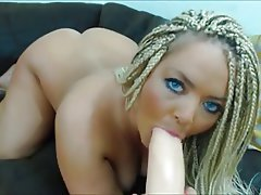 Big Butts Blonde Masturbation Webcam