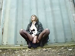 Amateur British Masturbation Mature Outdoor