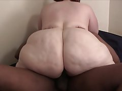 Amateur BBW Blowjob Interracial